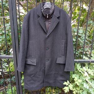 Hugo Boss 💯 virgin wool winter coat size XXXL